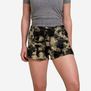 New Orleans Saints Womens To Tie-Dye For Lounge Shorts - XL