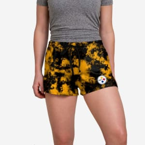 Pittsburgh Steelers Womens To Tie-Dye For Lounge Shorts - M
