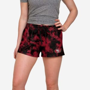 San Francisco 49ers Womens To Tie-Dye For Lounge Shorts - M