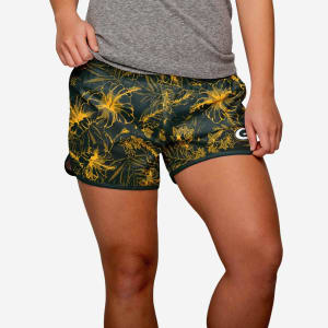 Green Bay Packers Womens Island Vibes Shorts - L