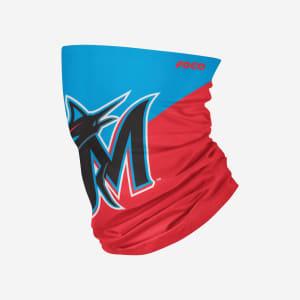 Miami Marlins Big Logo Gaiter Scarf - Youth