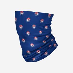 Texas Rangers Mini Print Logo Gaiter Scarf