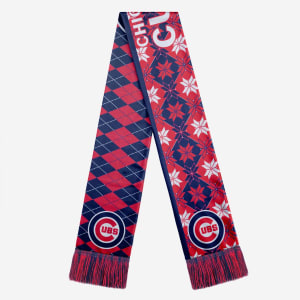 Chicago Cubs Reversible Ugly Scarf