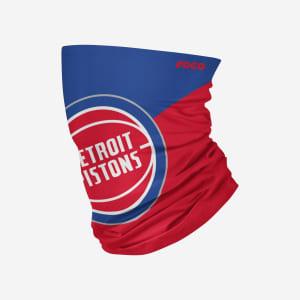 Detroit Pistons Big Logo Gaiter Scarf - Youth