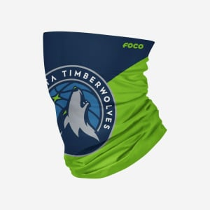 Minnesota Timberwolves Big Logo Gaiter Scarf - Youth