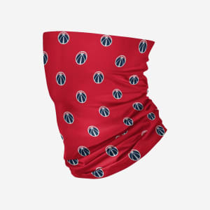 Washington Wizards Mini Print Logo Gaiter Scarf