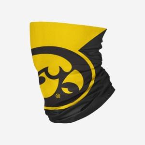 Iowa Hawkeyes Big Logo Gaiter Scarf - Youth