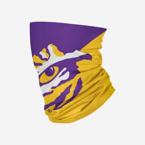 LSU Tigers Big Logo Gaiter Scarf - Adult