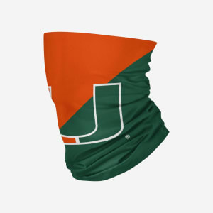 Miami Hurricanes Big Logo Gaiter Scarf - Adult