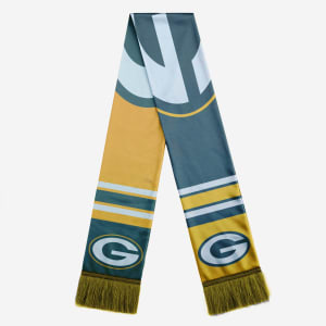 Green Bay Packers Colorblock Scarf