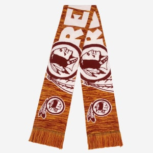 Washington Redskins Wordmark Big Logo Colorblend Scarf