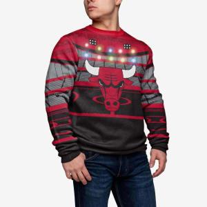 Chicago Bulls Light Up Bluetooth Sweater - 2XL