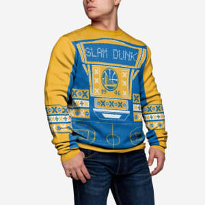 Golden State Warriors Ugly Light Up Sweater
