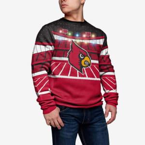 Louisville Cardinals Light Up Bluetooth Sweater - S