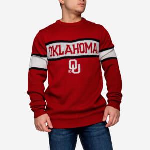 Oklahoma Sooners Vintage Stripe Sweater - 3XL