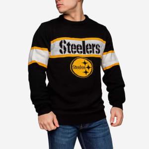 Pittsburgh Steelers Vintage Stripe Sweater - M