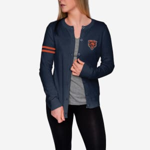 Chicago Bears Womens Varsity Cardigan - S