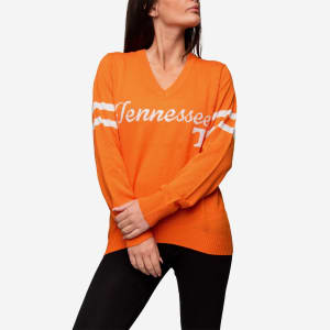 Tennessee Volunteers Womens Vintage Stripe Sweater
