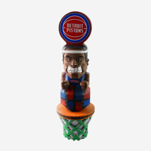 Detroit Pistons Tiki Figurine
