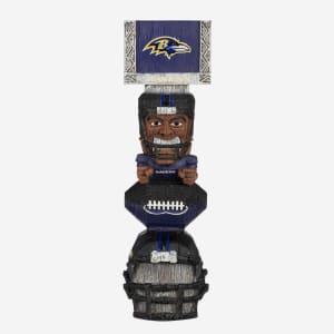 Baltimore Ravens Tiki Totem Figurine