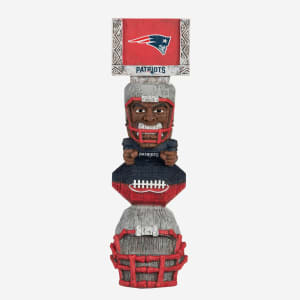 New England Patriots Tiki Totem Figurine