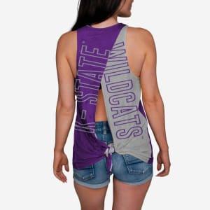 Kansas State Wildcats Womens Tie-Breaker Sleeveless Top - M