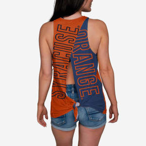 Syracuse Orange Womens Tie-Breaker Sleeveless Top - M