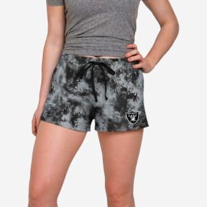 Las Vegas Raiders Womens To Tie-Dye For Lounge Shorts - S