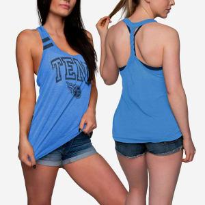 Tennessee Titans Womens Team Twist Sleeveless Top - XL