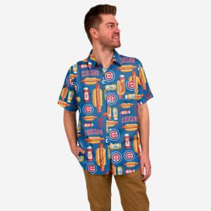 Chicago Cubs Grill Pro Button Up Shirt - 3XL