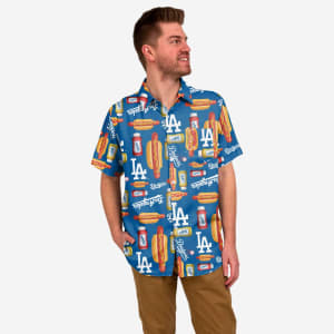Los Angeles Dodgers Grill Pro Button Up Shirt - L