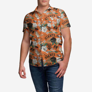 San Francisco Giants City Style Button Up Shirt