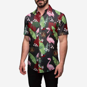 Atlanta United FC Floral Button Up Shirt