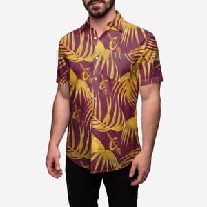 Cleveland Cavaliers Hawaiian Button Up Shirt - 2XL