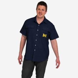 Michigan Wolverines Gone Fishing Shirt - 3XL