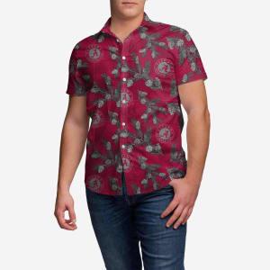 Alabama Crimson Tide Pinecone Button Up Shirt