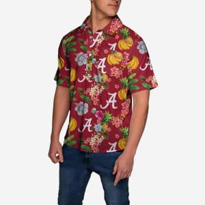 Alabama Crimson Tide Fruit Flair Short Sleeve Polo Shirt