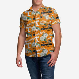 Tennessee Volunteers City Style Button Up Shirt - 3XL