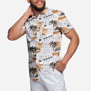 Tennessee Volunteers Winter Tropical Button Up Shirt - M