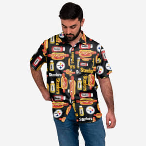Pittsburgh Steelers Grill Pro Button Up Shirt - M