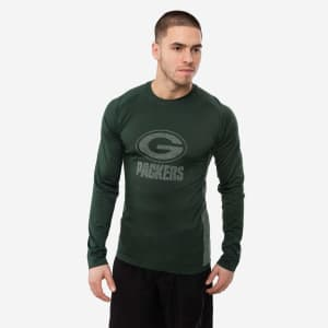 Green Bay Packers Long Sleeve Performance Pride Shirt - M