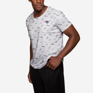 New England Patriots Mini Wordmark T-Shirt - 3XL