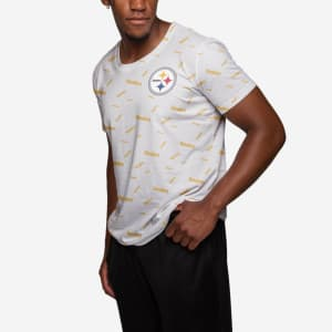 Pittsburgh Steelers Mini Wordmark T-Shirt - L