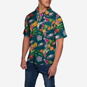 Philadelphia Eagles Fruit Flair Short Sleeve Polo Shirt - XL