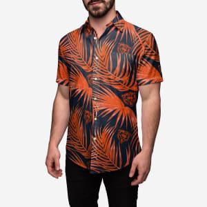 Chicago Bears Hawaiian Button Up Shirt - 2XL