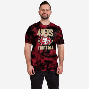 San Francisco 49ers To Tie-Dye For T-Shirt - S