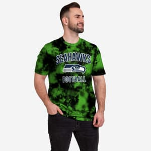 Seattle Seahawks To Tie-Dye For T-Shirt - XL