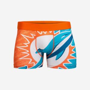 Miami Dolphins Printed Big Logo Underwear