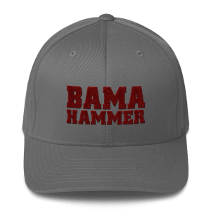 Bama Hammer Fitted Structured Twill Cap