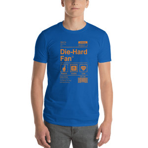 New York Basketball Die-Hard Fan Short-Sleeve T-Shirt